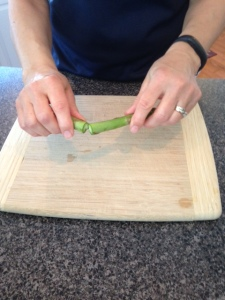 asparagus breaking